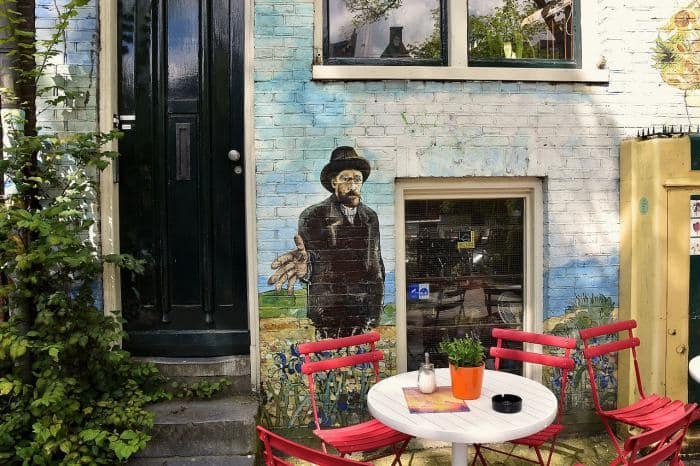 Coffeeshop tour amsterdam - coffee shop la tertulia
