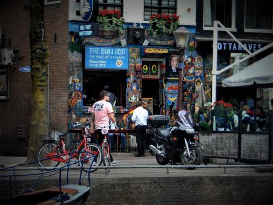 Coffeeshop tour amsterdam - the bulldog - mobile slider