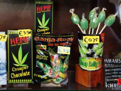 coffeeshop tour amsterdam - coffeeshop walking tour - head shop candy